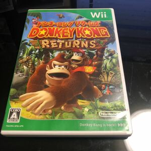 ドンキーコングリターンズ Wiiソフト Wii