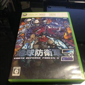 【美品】地球防衛軍3 ソフト XBOX360