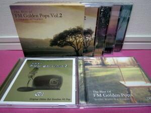 洋楽ベスト集コンピレーション「The Best Of FM Golden Pops Vol.2」4枚組CD/韓国盤/おまけCD2点/ゆうパック送料無料!