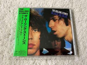 美品 レア Rolling Stones ローリング・ストーンズ Black And Blue ブラック・アンド・ブルー 国内盤 帯付き CD 送料無料