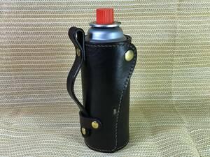 CB缶ホルダー CB缶カバー サドルレザー ハンドメイド ビンテージダークダークブラウン