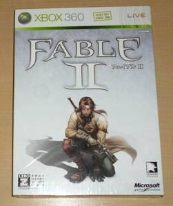 新品 Xbox 360 Fable Ⅱ フェイブル 2 マイクロソフト Microsoft