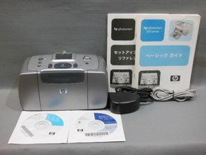 hp フォトスマート245 1.8インチカラー液晶ディスプレイ メモリーカードスロット搭載コンパクトフォトプリンター 1円スタート~