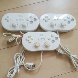Wii クラシックコントローラー 3個  任天堂