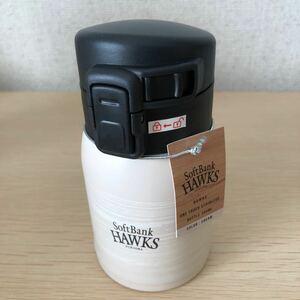 【非売品・未使用】真空断熱ステンレス魔法瓶200ml福岡ソフトバンクホークス