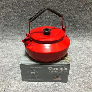 トランギア ケトル TR-325 0.6L レッド