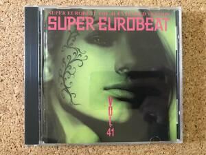 スーパーユーロビート Vol.41 Super Eurobeat Vol.41 ☆ 傑作CD AVCD-10041