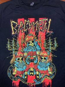 BABYMETAL T-shirt US TOUR 2017 not yet arrived for new goods
