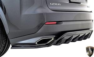 【M's】LEXUS NX300 F SPORT 後期 (2017.9-) AIMGAIN SPORT リヤアンダースポイラー // FRP エイムゲイン エアロ 10系 NX Fスポーツ