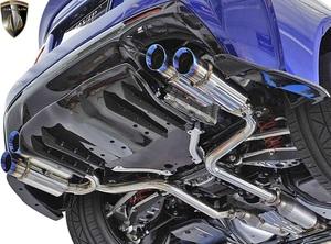 【M's】レクサス 前期 RC-F (2014.10-2019.5) AIMGAIN 純VIP SPORT ドラッグマフラー (BLUE SHOT) エイムゲイン エキゾースト マフラー