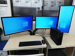 111-814【福岡発・引取歓迎】デザイナー御用達ハイスペックPC!ASUSPRO D320SF-I77700 i7- 7700プロセッサー+HDD 1TB+SSD 256GB
