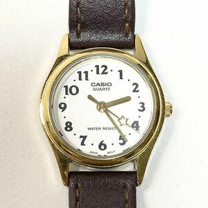【稼働品・電池交換済】CASIO/カシオ 腕時計 クォーツ LQ-398 レディース