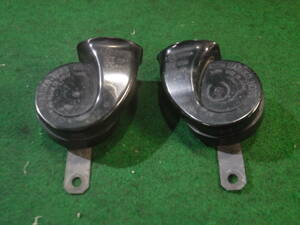 [ Toyota Voxy ZRR70W R70G type original horn 2 pieces set 000094 MR-FH-04 MR-FL-04 86510-30700 86520-30610 ]