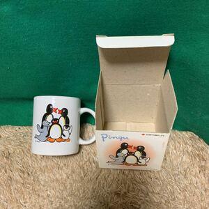 【500yen START】PINGU MAG CUP ピングー マグカップ コーヒーカップ 住友生命 非売品(not for sale)ジャンク指定条件下