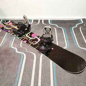 スノーボード セット フラックス flux レディース 板 ビンディング
