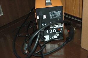 3Mトーチ 半自動溶接機/120A/MIG130/ノンガス  単相100V  50/60hz