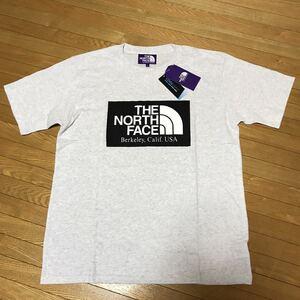 ザ・ノースフェイス パープルレーベル THE NORTH FACE PURPLE LABEL H/S Logo Tee Tシャツ Lサイズ 送料無料