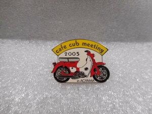 ホンダ ピンズコレクション スーパーカブ CA100 カフェカブ 2005 イエロー / レッド