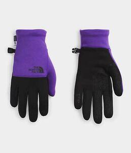 【新品未使用】ザ・ノースフェイス Mサイズ パープル メンズ 手袋 グローブ