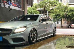 ベンツ W218 CLS カーボン サイドステップ CLS550/CLS500/CLS350/CLS63 AMGエアロ