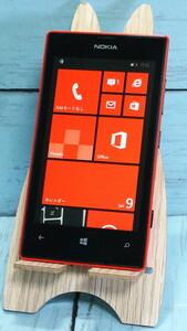 Nokia Lumia 520 Red レッド Windows Phone 本体 白ロム SIMロック解除済み SIMフリー 324701
