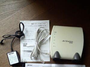 Wi-Fiルーター、動作品です Wi-Fi BUFFALO 無線LANルーター