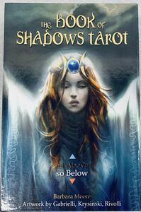 玩具 タロットカード 占い LO SCARABEO THE BOOK OF SHADOWS TAROT Barbara Moore 中古 使用感あり スレあり 内容物は写真にある通り 英語