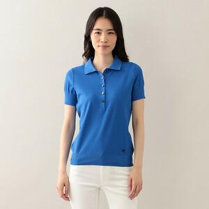 大きいサイズ 新品 マッキントッシュロンドン  素敵なポロシャツ 44 青 19800円