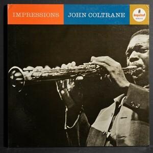 【米オリジナル】JOHN COLTRANE 完オリ MONO盤 IMPRESSIONS ジョンコルトレーン IMPULSE