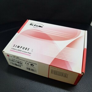 【未使用品】【送料無料】DoCoMo FOMA LGエレクトロニクス L600i Cotton Pink 製造番号:357895000473043