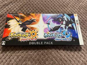送料無料! ポケットモンスター ウルトラサン ウルトラムーン ダブルパック ポケモン 3ds ソフト カセット