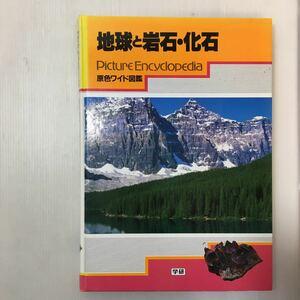 zaa-m1b♪原色ワイド図鑑―Picture encyclopedia(地球と岩石・化石) 大型 1996/4/20 斎藤靖二 (著) 学研