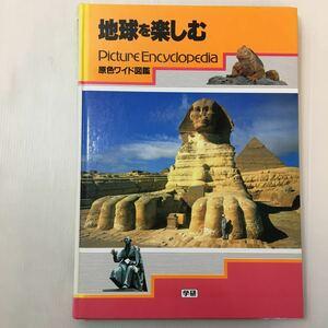 zaa-m1b♪原色ワイド図鑑―Picture encyclopedia (地球を楽しむ) 大型本 1996/6/20 吉村作治 (著) 学研