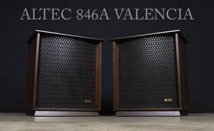 ALTEC アルテック 846A VALENCIA ヴァレンシア 最初期 米松合板仕様 ペア