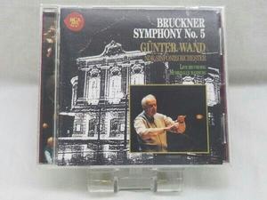 ギュンター・ヴァント(cond) CD ブルックナー:交響曲第5番[1989年ライヴ]