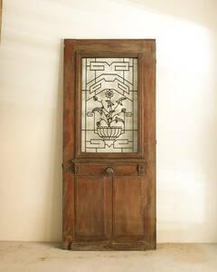 jf01701. country * France antique *bro can to fittings . material door French antique door iron door glass door wood door entranceway door