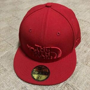THE NORTH FACE NEW ERA 59FIFTY TNF RED / TNF RED ノースフェイス ニューエラ キャップ 59FIFTY 7 3/8