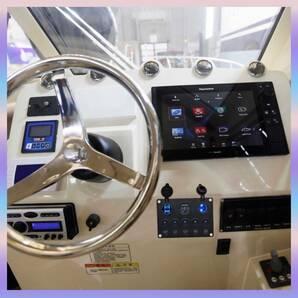 【全ての12V-24V車・キャンピングカー・大型トラック・マリンボート・漁船など幅広い互換性!】防水スイッチパネル シガーライターソケット