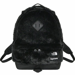 新品未開封 納品書付き SUPREME The North Face Faux Fur Backpack Black 20FW バックパック リュック 黒