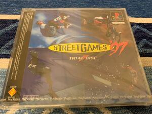 PS体験版ソフト ストリートゲームス'97 Street Games '97 TRIAL DISC 未開封 非売品 送料込み PlayStation DEMO DISC プレイステーション