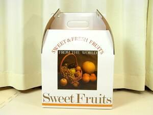 フルーツ詰合せ キャリー箱 ギフトボックス中 14枚セット 幅約26cm 果物 ギフト パーティ 贈り物 お見舞い 結婚式 お祝い 包装 ラッピング