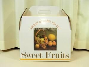 フルーツ詰合せ キャリー箱 ギフトボックス大 34枚セット 幅約33cm 果物 ギフト パーティ 贈り物 お見舞い 結婚式 お祝い 包装 ラッピング