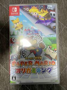 ペーパーマリオ 新品 Nintendo Switch ニンテンドースイッチ