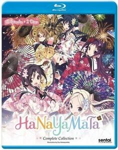 【送料込】ハナヤマタ 全12話 (北米版ブルーレイ) Hanayamata blu-ray BD