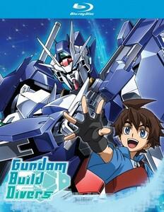 【送料込】ガンダムビルドダイバーズ 全25話 (北米版 ブルーレイ) Gundam Build Divers blu-ray BD