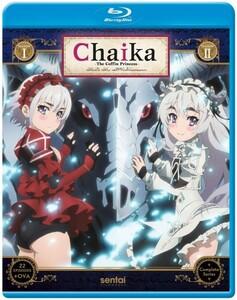 【送料込】棺姫のチャイカ 第1+2期 全22話+OVA(北米版 ブルーレイ) Chaika the Coffin Princess blu-ray BD
