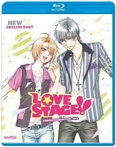 【送料込】LOVE STAGE!! 全10話+OVA ラブ・ステージ (北米版 ブルーレイ) LOVE STAGE!! blu-ray BD