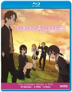 【送料込】ココロコネクト 全13話+4OVA (北米版 ブルーレイ) Kokoro Connect blu-ray BD