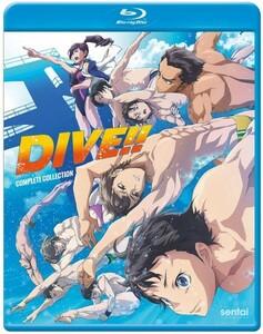 【送料込】ダイブ!! 全12話 (北米版 ブルーレイ) Dive!! blu-ray BD
