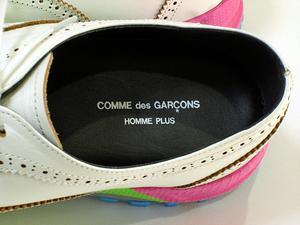 【COMME des GARCONS HOMME PLUS】コムデギャルソンオムプリュス 19SSウイングチップシューズ/26